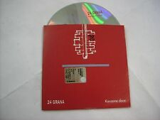 24 GRANA - KANZONE DOCE - CD SINGLE PROMO CARDSLEEVE 2001