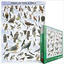 Eurographics Puzzle 1000 Pc - Birds of Prey & Owls - EG60000316