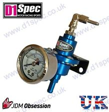 D1 SPEC FUEL PRESSURE REGULATOR BLUE UpTo 450BHP WRX STI SUPRA MR2 SKYLINE CIVIC