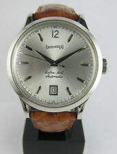 EBERHARD & CO EXTRA- FORT AUTOMATIC REF 41028 STAINLESS STEEL WATER RESIST 500M