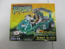 2002 Playmates Teenage Mutant Ninja Turtles Sewer Slider Transport