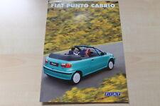 88901) Fiat Punto Cabrio - Österreich - Prospekt 08/1998