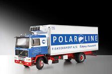 Italeri 3893 1/24 Scale Model Kit Volvo F-16 Reefer Truck
