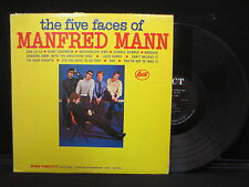 Manfred Mann - The Five Faces of Manfred Mann on Ascot ALM 13018