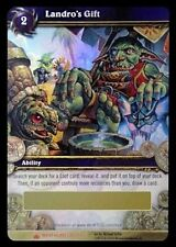 Landro's Gift Loot Card World of Warcraft WoW TCG Box Wrathgate 1/3  Rare