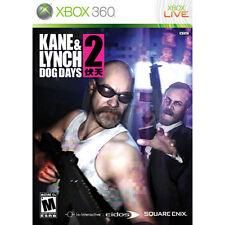 Kane & Lynch 2 Dog Days  Microsoft XBOX 360 Game