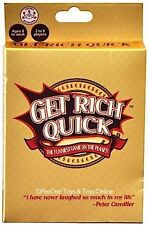 GET RICH QUICK Family Card Game Kids Birthday Gift More Board Games in Store