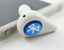 Noise Canceling Bluetooth Headset Earpiece For Mobile Phone Iphone 5C 5G 4 4S 4G