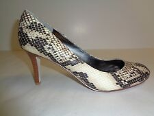 Marc Fisher Size 8 M DAFNA DAFNA2 Natural Snake Pumps Heels New Womens Shoes