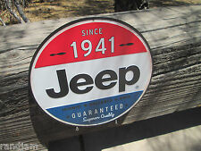 SINCE 1941 JEEP DISPLAY ICONIC RELIABLE 4WD GUARANTEED SUPERIOR QUALITY NEW ITEM