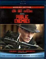 Public Enemies (Blu-ray + DVD Special Edition / Johnny Depp 2001)
