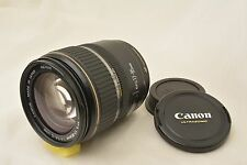 #741 Canon Zoom Lens EF-S 17-85mm F/4-5.6 IS USM Macro With Caps From Japan