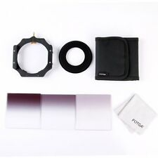 Fotga 4x4 100mm Square Filter Graduated ND2 ND4 ND8 + Holder + 82mm Adapter Ring