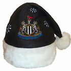 Newcastle United FC Official Xmas Gift Christmas Santa Beanie Hat