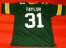 JIM TAYLOR CUSTOM GREEN BAY PACKERS JERSEY
