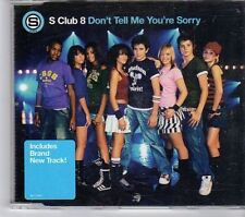 (EW460) S Club 8, Don't Tell Me You're Sorry - 2003 CD