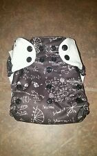Bumgenius Freetime cloth diaper Albert print Easy to Use
