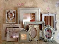 Shabby Ornate Open Picture Frames Vintage Style~Wedding~Roses Romantic Lot 10