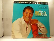 """SAM COOKE -(LP)- HITS OF THE 50'S -  """"MONA LISA"""",  """"CRY""""  RCA LIVING STEREO-1960"""