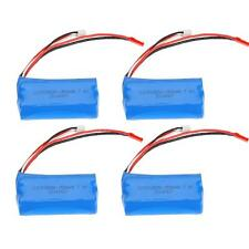 4X 7.4V 1500mAh Rechargeable Li Battery for Double Horse 9118 MJX T23/F45 5RK2