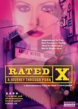 NEW Rated X - A Journey Through Porn (DVD)