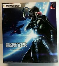 Space Pirate Captain HARLOCK - PLAY ARTS KAI  Collector Action Figure - SEALED
