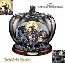 "TIM BURTON'S -DISNEY'S ""NIGHTMARE BEFORE CHRISTMAS""-MUSICAL PUMPKIN-NEW !"