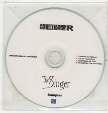 (ET507) Teitur - The Singer, 4 track sampler - 2009 DJ CD