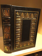 Easton Press Republic by Plato 100 Greatest