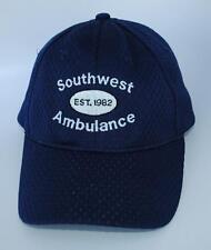 """""""Southwest Ambulance EST. 1982"""" """"WORKING TOGETHER"""" Size S/M NU-FIT Baseball Cap"""