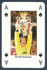 PLAYING CARD-ARSENAL-DOUBLE WINNERS 1997/98-#AS-ENGLAND-DAVID SEAMAN