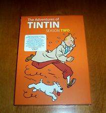 THE ADVENTURES OF TINTIN Season Two 2 DVD SET Childrens Adventure Classic TV NEW