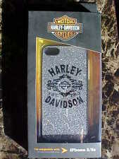 Harley-Davidson Silver Bling Phone cover for 5/5's New