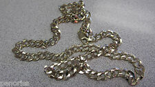 Men's 24 inch Heavy 14k Gold Link Chain Necklace 7.5mm 49 Grams Solid Make Offer