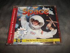 Space by Twin Sisters CD  Songs that teach 100+ Words in English & Italian