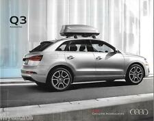 2015 15  Audi  Q3  Accessories original sales  brochure  MINT