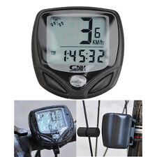 Wireless LCD Cycle Computer Bicycle Meter Speedometer Odometer For Bike Best DY