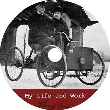 My Life and Work, Henry Ford Autobiography Business Wealth Audiobook on 1 MP3 CD