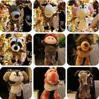 Cute Kids Plush Velour Hand Puppets Farm Animals Designs Learning Aid Toys Doll
