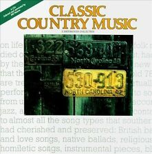 Classic Country Music, Various Artists, , New Box set