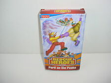 Fisher Price Rescue Heroes Peril on the Peaks VHS Video Tape Movie