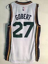 Adidas Swingman 2015-16 NBA Jersey Utah Jazz Rudy Gobert White sz S