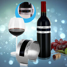 Stainless Steel LCD Electric Red Wine Digital Thermometer Temperature Meter XF