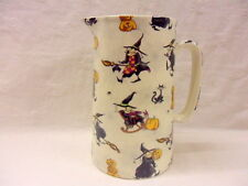Hubble Bubble witches 2 pint pitcher jug by Heron Cross Pottery