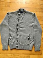 $68 Stella McCartney GAP boy sweater cardigan gray wool blend 10