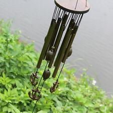 Magie Ancla Wind Chime Sonido Juego 9 Tubos Feng-shui Arpa De Viento Deco Jardín