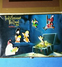Tinks Pin Quest Peter Pan 6 Pin Boxed Disney Set LE 800 OB Tinker Bell WDW
