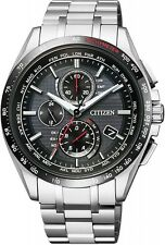 NEW CITIZEN Watch ATTESA Eco-drive radio clock AT8144-51E Men's from japan