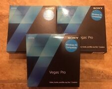 Sony Vegas Pro 13 FULL Version 100% Retail Version IN BOX NEW SEALED!