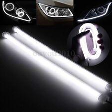 2x 30CM Switchback Auto LED Strip Streifen DRL Tube Tagfahrlicht Lampe Leuchte